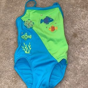 🛍 Adorable girls bathing suit size 18 month